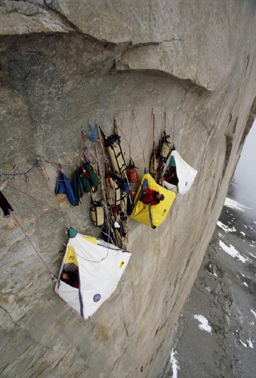 Rock Camping