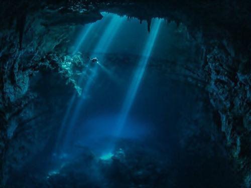 Scuba Dive Cave