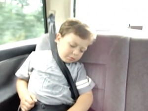 Badass Kid Wakes up