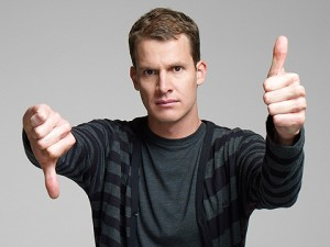 Tosh.O Thumbs-up
